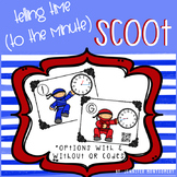 Telling Time (to the Minute) Scoot