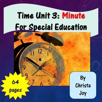 Telling Time to the 5 Minute Unit 3 for Special Education