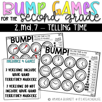 Telling Time to the Nearest 5 Minutes | BUMP Games
