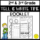 Telling Time to Nearest 5 Minutes Booklet