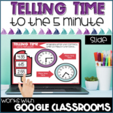 Telling Time to the Nearest 5 Minutes Digital Distance Learning
