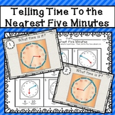 Telling Time to the Nearest Five Minutes - A Montessori-Inspired Lesson