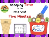 Telling Time to the Nearest Five Minutes/  Cut and Paste Activity