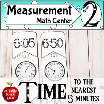 Time to the nearest five minutes math center activity tpt time to the nearest five minutes math center activity ibookread Read Online