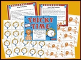 Telling Time to the Nearest Five Minutes Math Center Station Activity!