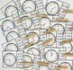 Telling Time to the Nearest Five Minutes with Analog Clocks {Unlined}