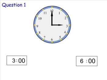 Telling Time to the Nearest Hour