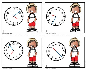 Telling Time to the Nearest Minute
