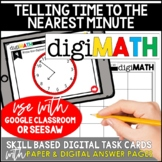 Telling Time to the Nearest Minute: Digital Math Centers