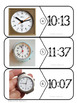 Telling Time to the Nearest Minute Math Center Activity