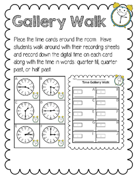 Telling Time to the Quarter Hour