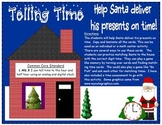 Telling Time to the hour and half hour: Help Santa Deliver His Presents on Time