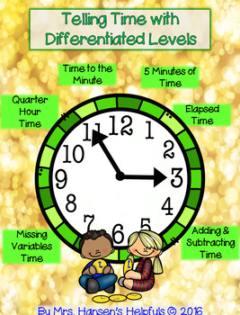 Telling Time with Differentiated Levels