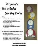 Telling Time with Seuss' Fox in Socks: Stacking Clocks