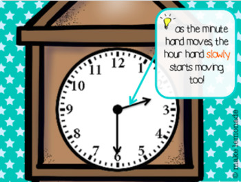 Telling Time Powerpoint (Interactive, No-prep PPT)