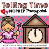 Cinderella Telling Time Powerpoint (Interactive, No-prep PPT)