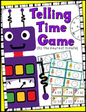Telling Time to the Minute Game (30 Sets of Task Cards, Game Board, Answer Key)