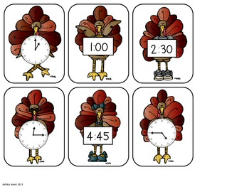 Telling Time with Turkeys