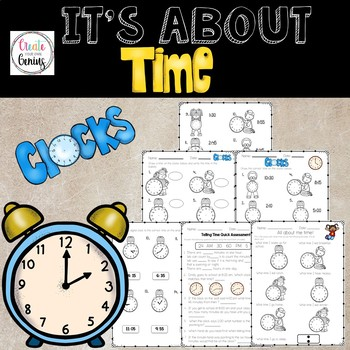 Telling Time worksheets and Activity assessment