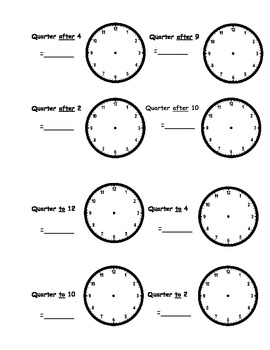 telling time worksheets o 39 clock half past quarter to quarter after. Black Bedroom Furniture Sets. Home Design Ideas
