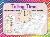 Telling Time~A Busy Day Around The Clock~Mini Booklet ~Daily Routines