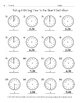 Telling & Writing Time to the Hour & Half-Hour (Common Core 1.MD.3)