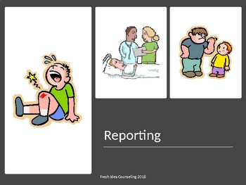 Reporting  and Tattling: What the difference?