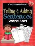 Telling or Asking Sentences
