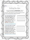 Telling the Gist Homeworks