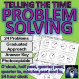 Telling the Time: 24 Problem Solving (Duration),Answer Key