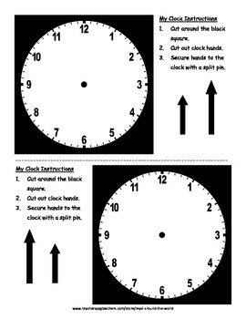 Telling the Time: 5 Minute Intervals