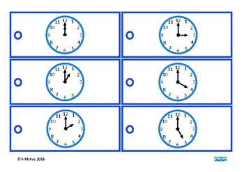 Telling the Time Analogue to Digital Clock, Life Skills Math, Autism, Special Ed
