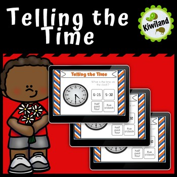 Telling the Time - Analogue to Digital Time - Boom Learning Cards