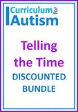 Telling the Time BUNDLE Autism Life Skills Math