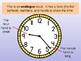 Telling the Time & Clocks PowerPoint