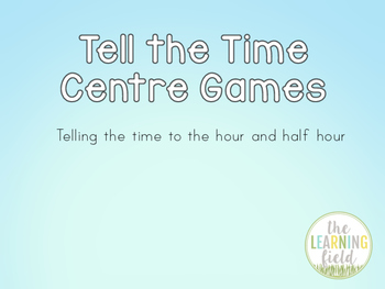 Telling the Time Games