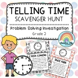 Telling the Time - Analog clock word problems | Grade 2