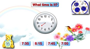 Telling the Time Learning Pack