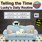 Telling the Time   Lucky's Daily Routine   Distance Learni