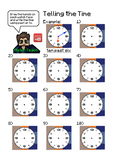 Telling the Time (Minecraft Maths)