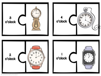 telling the time o 39 clock and half past activities by little sherbet lemon. Black Bedroom Furniture Sets. Home Design Ideas