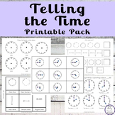Telling the Time Pack