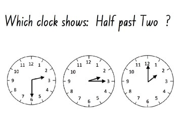 Telling the Time (PowerPoint Quiz)