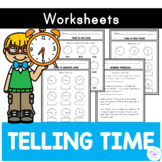 Telling the Time - Practice Sheets