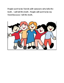 Telling the Truth Social Skills Story
