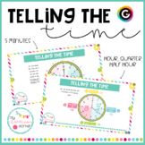 Telling the time - GENIALLY presentation