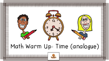 Telling the time Warm Up