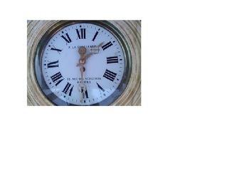 Telling the time, photos of clocks