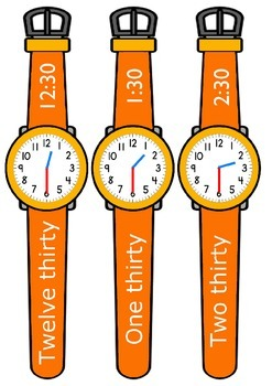 Telling the time watch puzzles