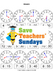 Telling the Time Worksheets (4 levels of difficulty)